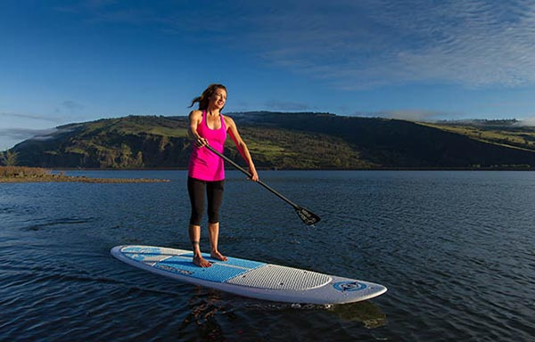 The Woman of Standup Paddling 36