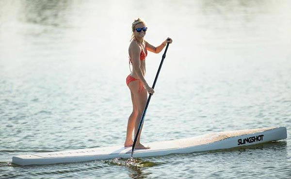 The Woman of Standup Paddling 45
