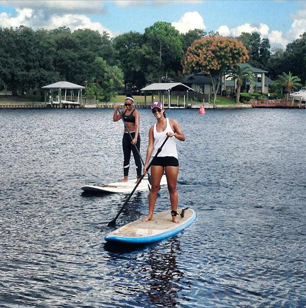 The Woman of Standup Paddling 9