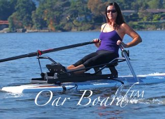 Oar Board sup system in action
