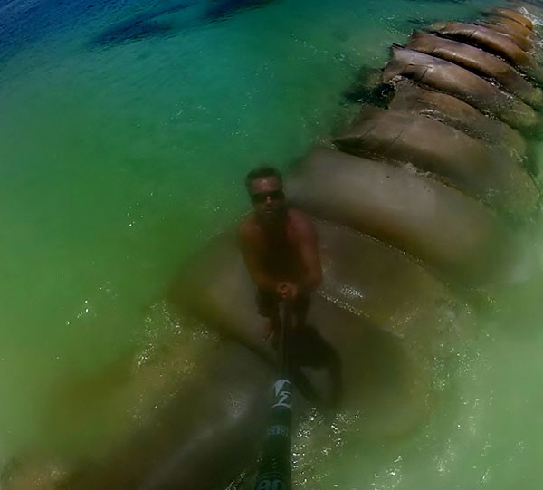 using gopro with sup