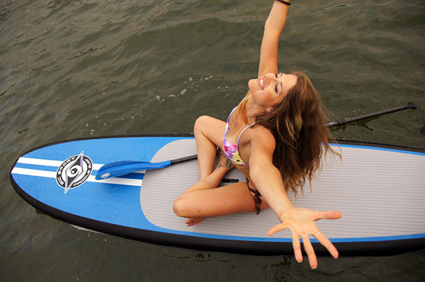 Jodelle Stand up paddleboarding cure