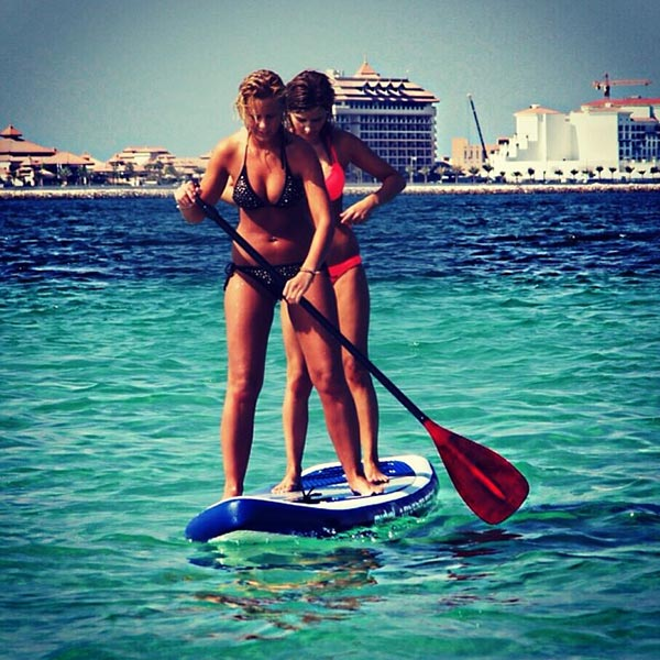 double trouble on a sup