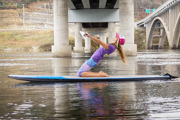 SUP-er Simple Kneeling Core Exercise 2