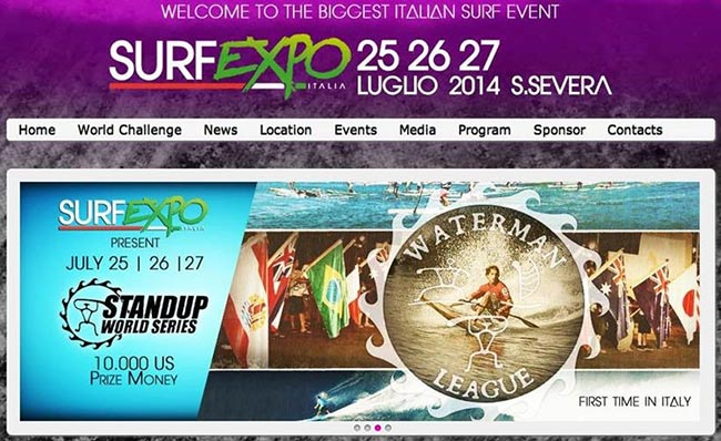 Italia Surf Expo to host Challenger Series & European Cup Final
