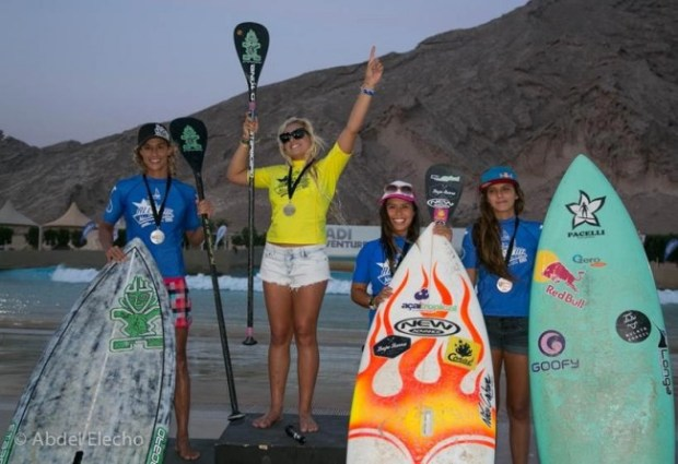 Izzi Gomez comes from behind to take victory at the Abu Dhabi All Stars