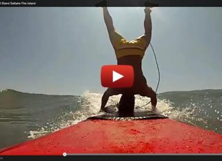 Stand Up Paddle Board Head Stand