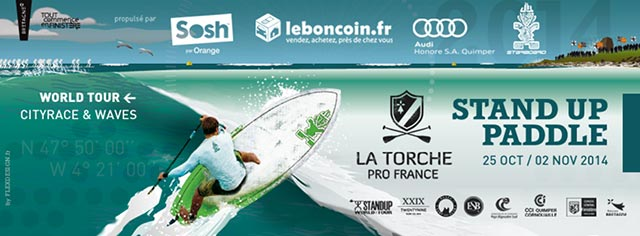 La Torche Pro France to determine the 2014 World Champion for Stand Up Paddlesurfing