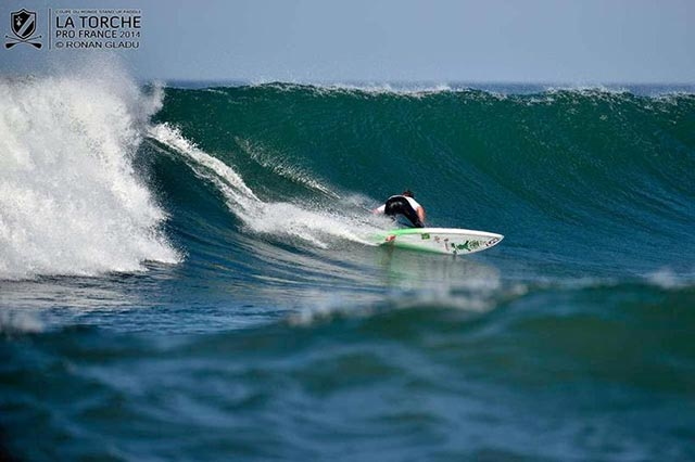 Team Starboard fire all cylinders on Day 4 of the 2014 La Torche Pro France