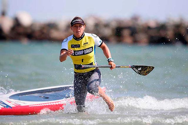 Lina Augaitis secures the 2014 Women's World Title after a battle to the end