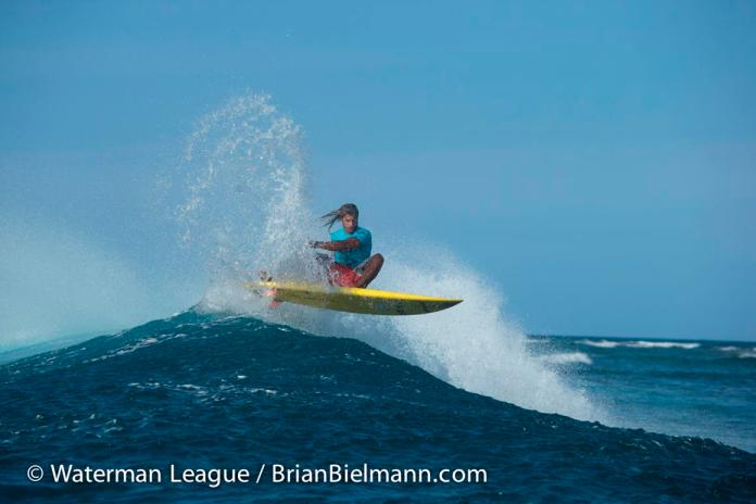 Caio Vaz impresses but just fall short in the final and can't retain his Sunset Beach Pro crown