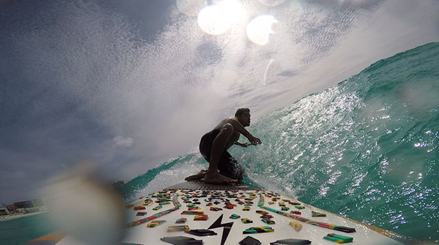 Joaquin Conde: Carribbean little swell...We always enjoy when north winds come and visit us to Riviera Maya!