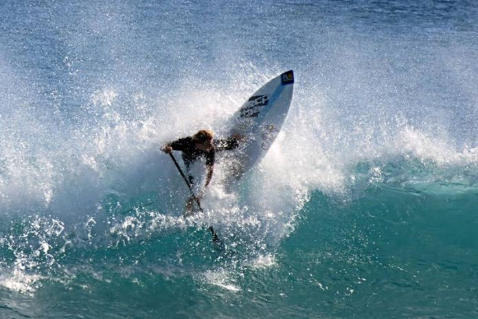Terry Collier: From December 9th through the 11th, the North End of Palm Beach enjoyed some of the best conditions of the year.  I'd like to know who is making this cutback. All I know is that he made it.