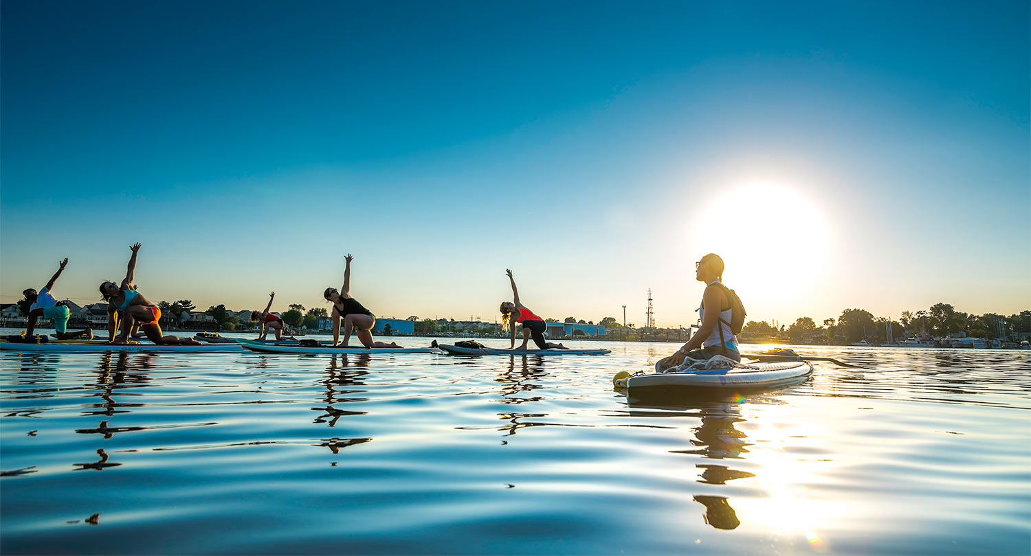 One Woman S Experience With Becoming Sup Yoga Certified