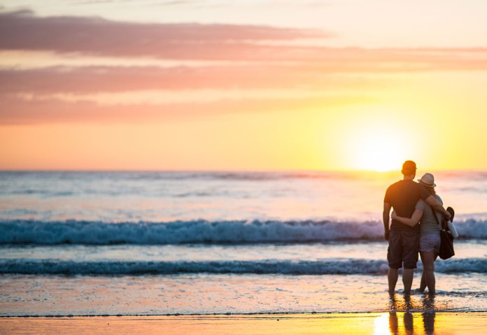 Lindsey and Adam Costa Rican Sunset Playa Nosara by Modus Photography