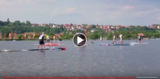 """Starboard's Conor Baxter Earns """"Fastest Paddler on Earth"""" Title"""