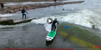 Todd Caranto Takes On New Manmade Wave In Bend River