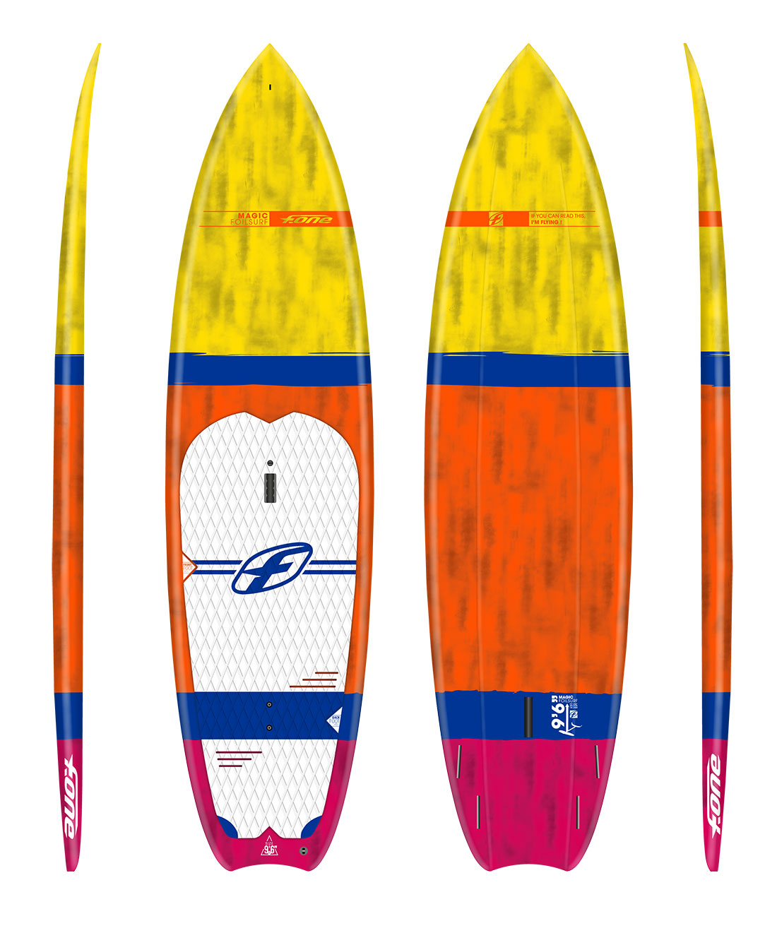 Here's the Rundow on F-ONE's Versatile New Sup Foil