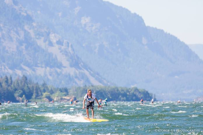 Gorge Paddle Challenge double downwinder
