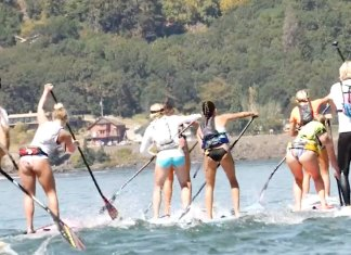 Werner Paddles Official Recap and Videos of Columbia Gorge Paddle Challenge