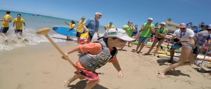 8th Annual Rincón Beachboy Sup Race Supporting Down's Syndrome