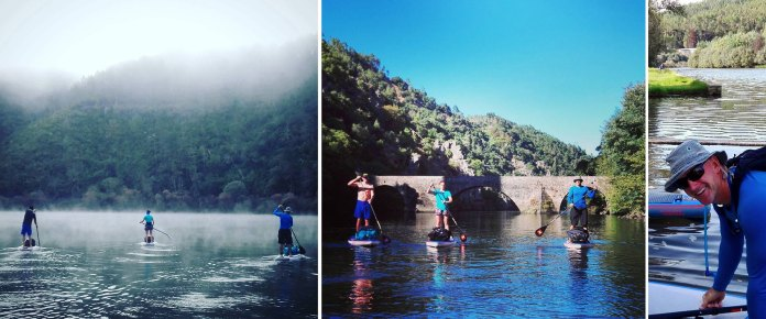 Stand Up Paddler Take On 240km Beautiful Douro Valley Europe