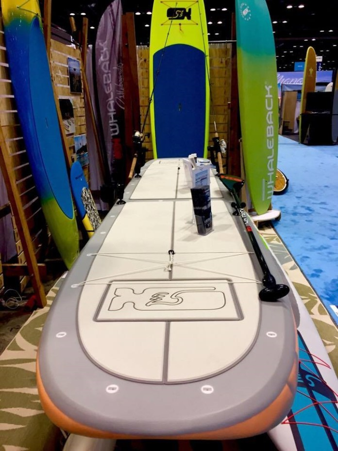 Whaleback Paddleboards Tartuna Fish and Fun Surf Expo 2017