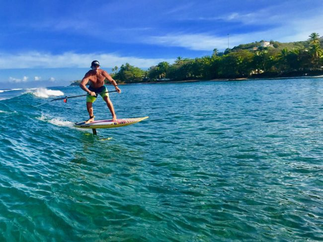 Riding The High On A Foil In Puerto Rico Tips From The