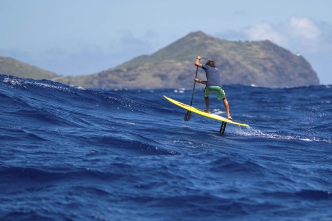 Kai Lenny Naish Malolo foil channel crossings Red Bull ocean pollution