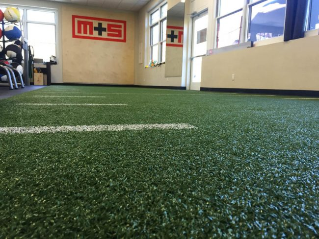 Muv Strong choosing a fitness facility turf