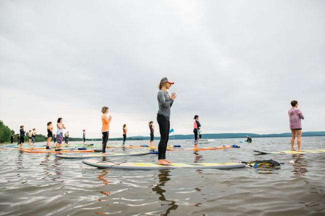 H2UP Pulse Giant Sup yoga Quebec
