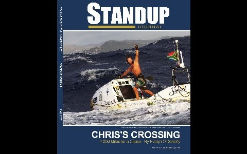 Chris Bertish Standup Journal cover shot
