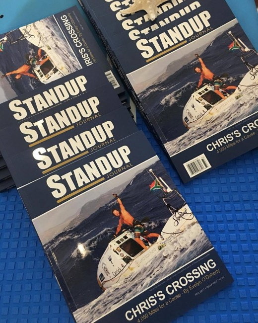 Standup Journal Chris Bertish issue