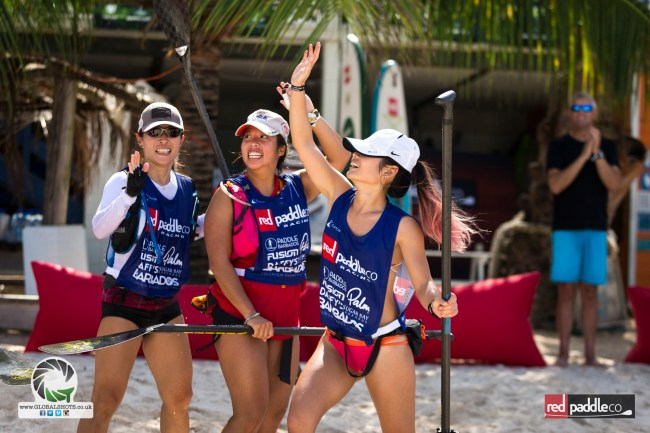 Red SUP Ladies Red Paddle Co Barbados