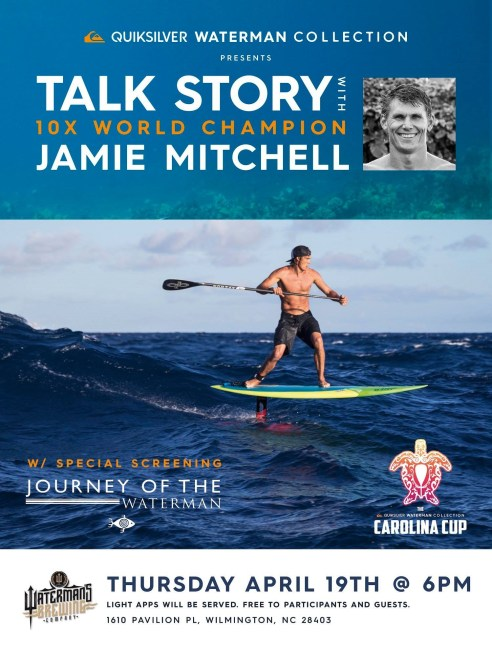 Jamie Mitchell Journey of the Waterman