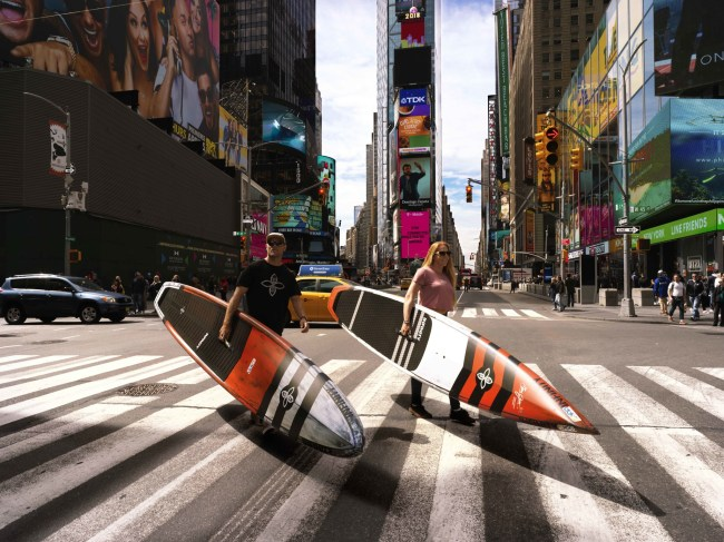 Slater Trout Candice Appleby APP World Tour times square Infinity