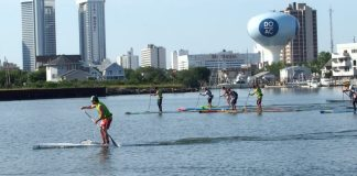 Dean Randazzo Paddle for a Cure New Jersey