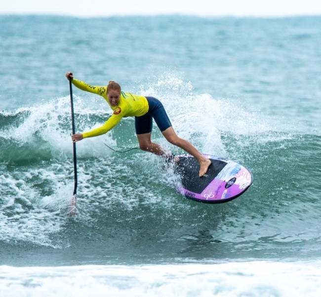 Candice Appleby ISA sup surf Hainan China