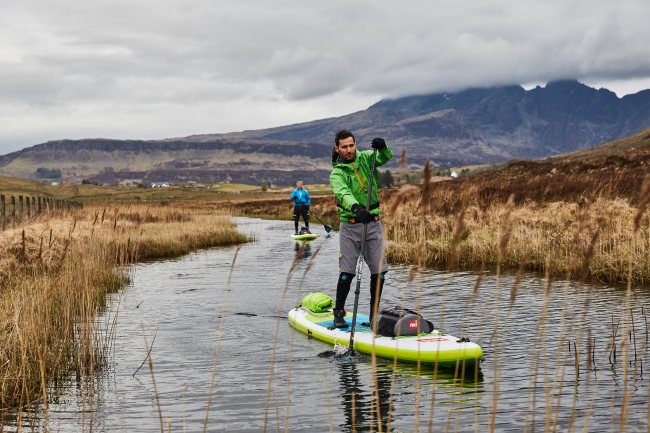 Red Paddle Co inflatable stand up paddle