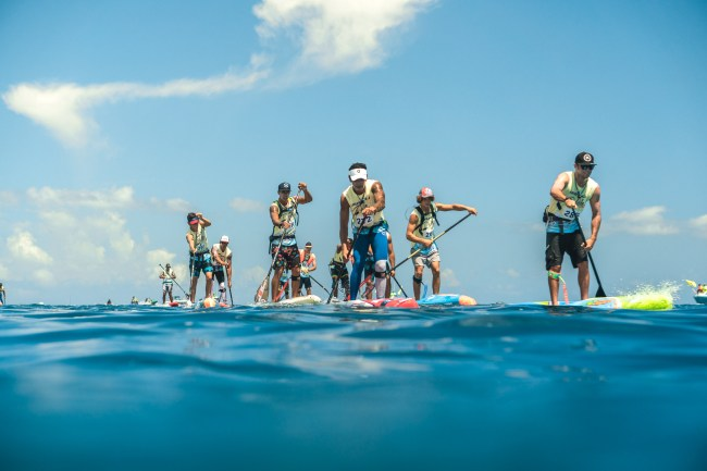 Paddle League Air France Paddle Festival Tahiti