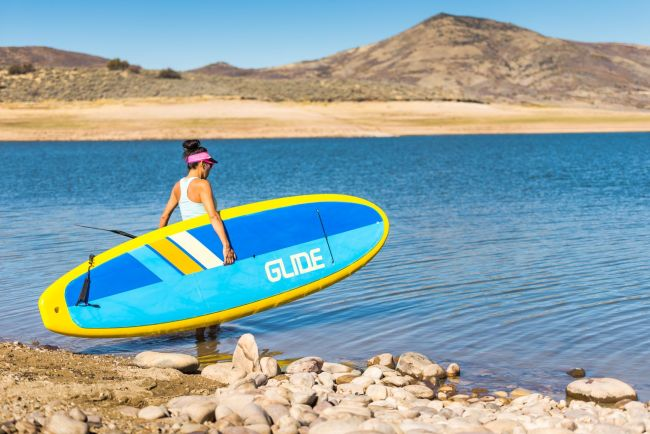 Glide SUP rental stand up paddle board Audrey Utah
