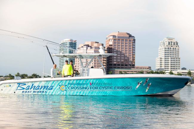 Bahama Boat Works Crossing for a Cure