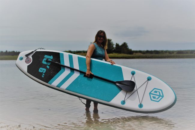 Goosehill SUP full board smile