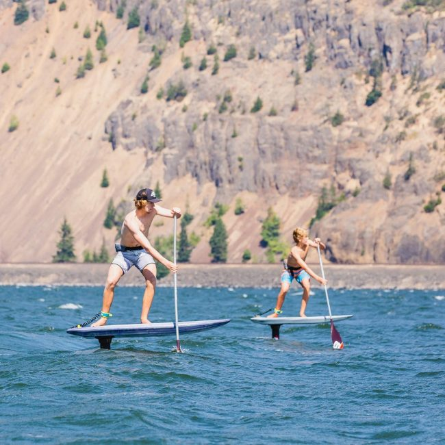 Foiling Gorge Paddle Challenge