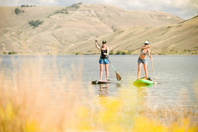 Gunnison Colorado Blue Mesa stand up paddle