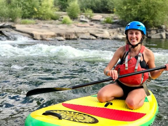 Gunnison Colorado white water SUP paddling