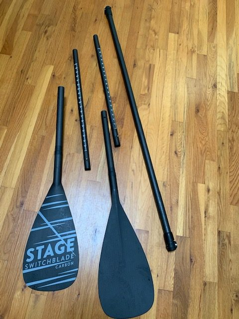 Stage ideas switchblade paddle 5 pieces