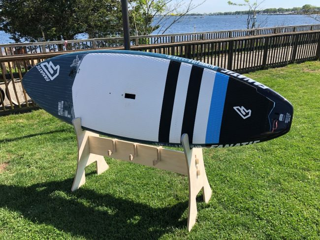 Rack Labs stand up paddle board horse for display