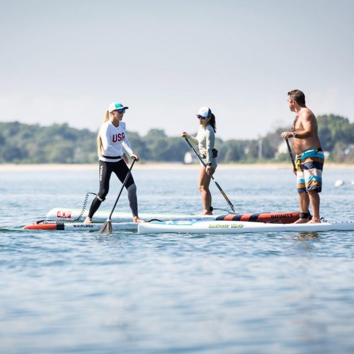 Candice Appleby world champion Infinity SUP