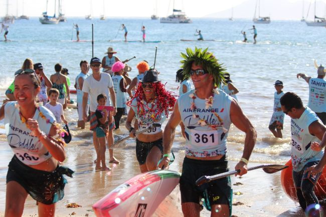 Air France Paddle Festival winners